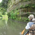 Paddling the Baraboo River
