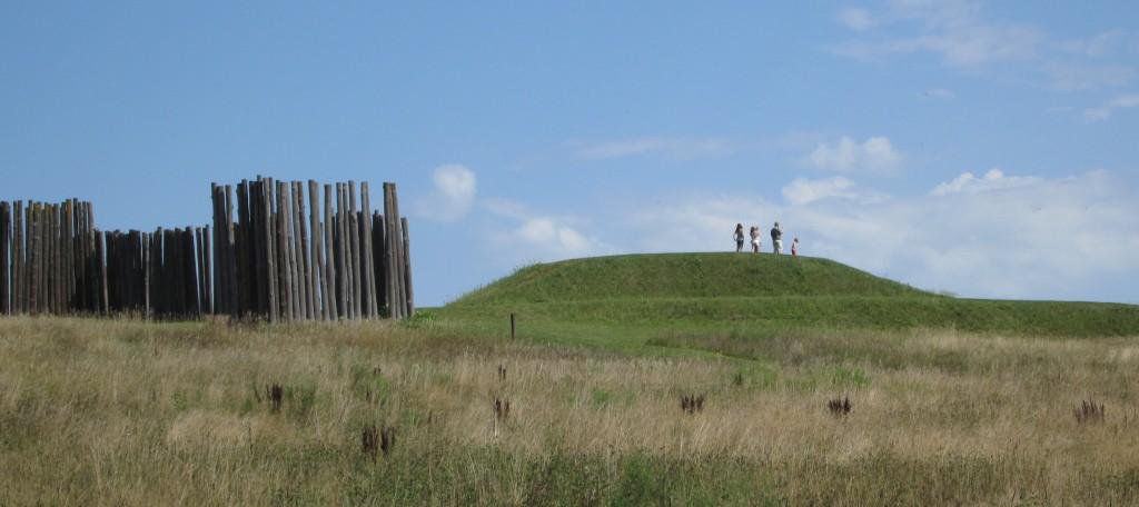 Temple Mound at Aztalan